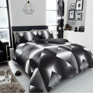 3D TRIANGLE REVERSIBLE DUVET SET