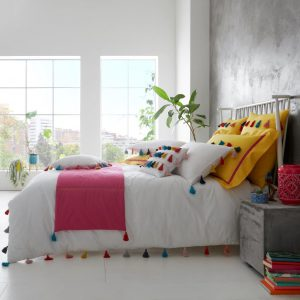 TASSLE SIGNATURE DUVET SET