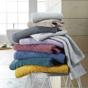 Geo Egyptian Cotton 600GSM Towels