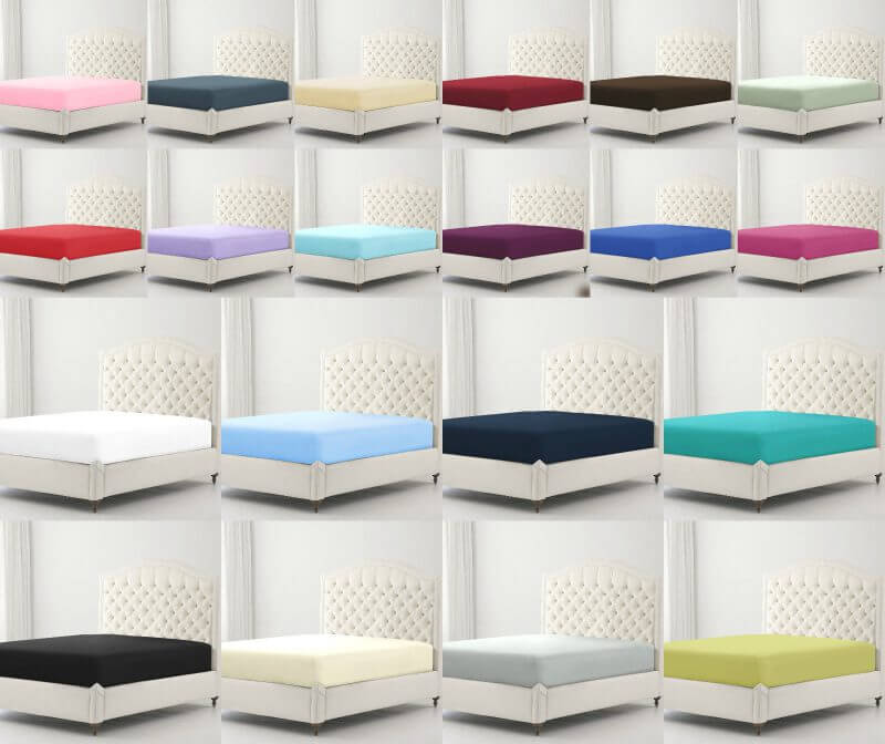 Percale Non Iron Super Soft Fitted Sheets