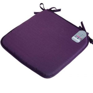 Luxury Soft Seat Pads with Tie Knots